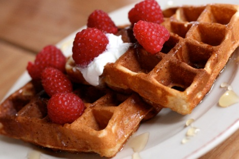 honey-yogurt-waffles